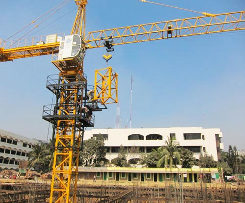 Basic classification of tower crane