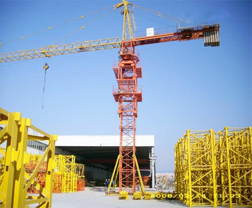 How to maintenance a tower crane